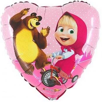 Festone Happy Birthday, cartoons Shimmer & Shine, bandierine cartone 2 mt