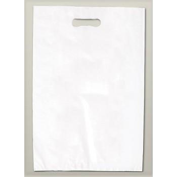 Buste a fagiolo hd 35 cm + 5 + 5 x h 60 cm Bianco
