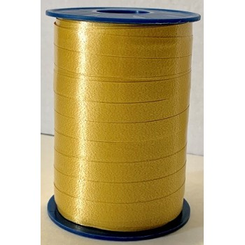 Nastro per palloncini 5 mm. x 500 mt. color Oro 634