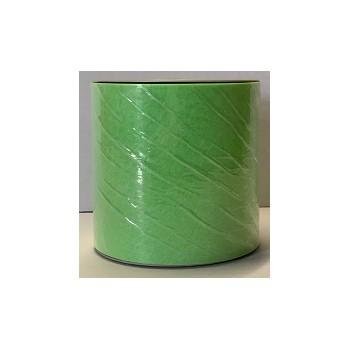 Nastro TNT Nuvola color Verde Lime 51 - h.10 cm. x 50 mt. per decorazione centro tavola