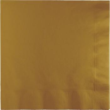 Oro - Tovagliolo 2 veli 33x33 cm. - 20 Pz.