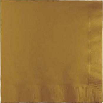 Oro - Tovagliolo 2 veli 33x33 cm. - 50 Pz.
