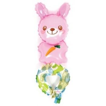 Palloncino Bracciale indossabile 27 cm. Coniglio