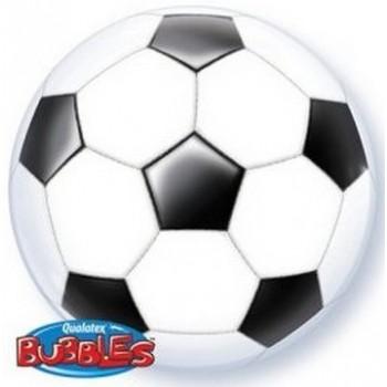 Palloncino Bubble 56 cm. Pallone di Calcio