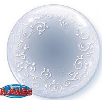 Palloncino Bubble 61 cm. Filigrana