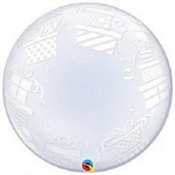 Palloncino Bubble 61 cm. Pacchi Regalo