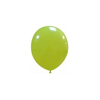 Palloncino in Lattice Rotondo 12,5 cm. Verde Lime