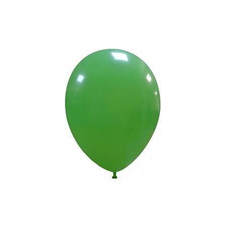 Palloncino in Lattice Rotondo 30 cm. Verde Scuro