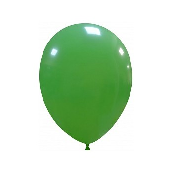 Palloncino in Lattice Rotondo 30 cm. Verde Scuro