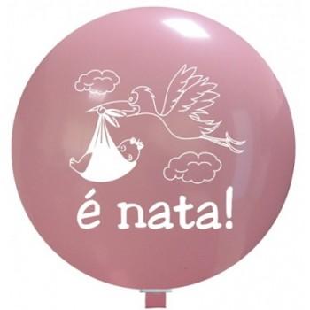Palloncino in Lattice Rotondo 80 cm. Stampa E' Nata