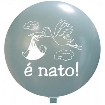 Palloncino in Lattice Rotondo 80 cm. Stampa E' Nato
