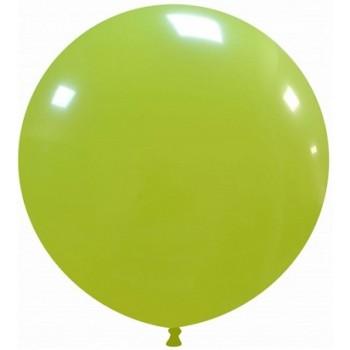Palloncino in Lattice Rotondo 80 cm. Verde Lime - Round