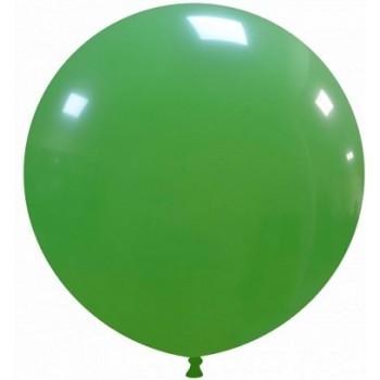 Palloncino in Lattice Rotondo 80 cm. Verde Scuro - Round