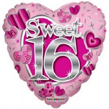 Palloncino Mylar 45 cm. 16° Sweet Pink