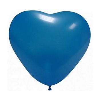 Palloncino in Lattice Cuore 25 cm. Blu