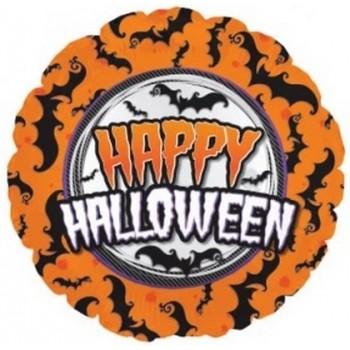Palloncino Mylar 45 cm. Halloween Bat 18