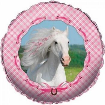 Palloncino Mylar 45 cm. Heart My Horse