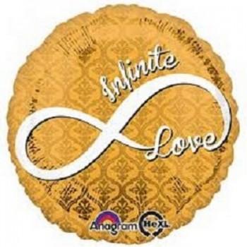 Palloncino Mylar 45 cm. Infinite Love