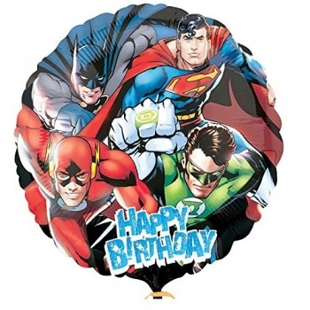 Palloncino Mylar 45 cm. Justice League HBD Party