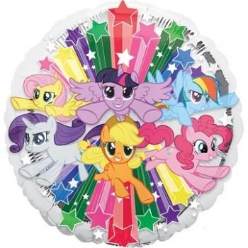 Palloncino Mylar 45 cm. My Little Pony Gang