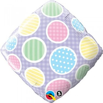 Palloncino Mylar 45 cm. Polka Dots Accent Patterns