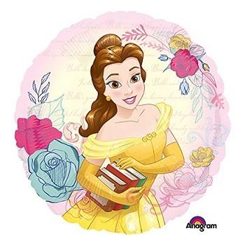 Palloncino Mylar 45 cm. Principessa Bell