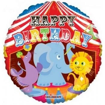 Palloncino Mylar 45 cm. R - Birthday Circus