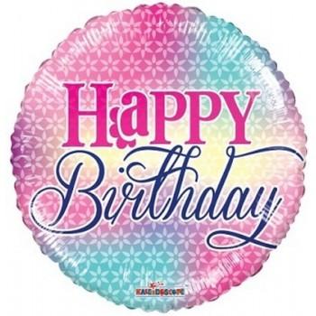Palloncino Mylar 45 cm. R - Birthday Girly Colors