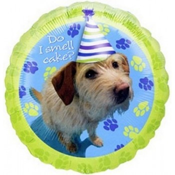 Palloncino Mylar 45 cm. R - Party Pups Do I Smell Cake?