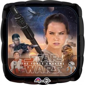 Palloncino Mylar 45 cm. Star Wars the Force Awakens