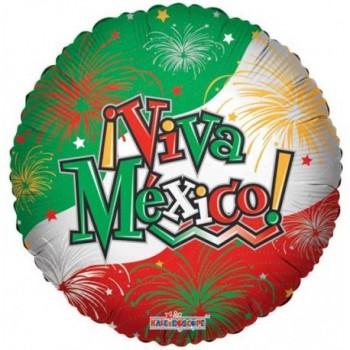 Palloncino Mylar 45 cm. Viva Mexico