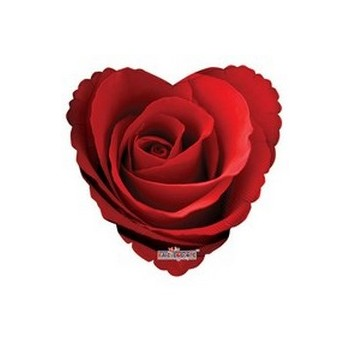 Palloncino Mylar Mini Shape 22 cm. Classic Roses