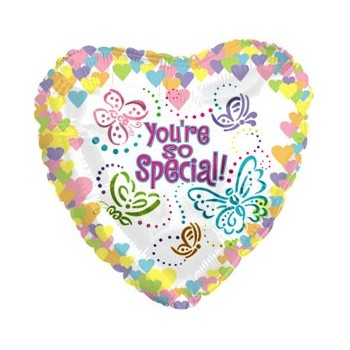 Palloncino Mylar Mini Shape 22 cm. You're So Special Butterflies