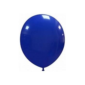 Palloncino in Lattice Rotondo 12,5 cm. Blu Scuro