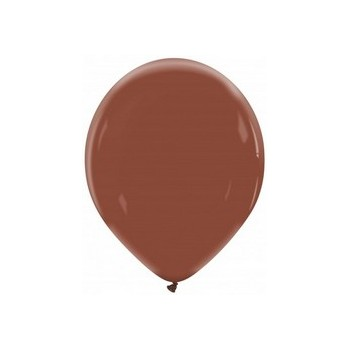 Palloncino in Lattice Rotondo 12,5 cm. Cioccolato