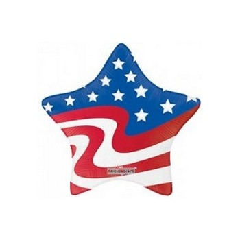 Palloncino Mylar Mini Shape 30 cm. USA Flag