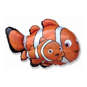 Palloncino Mylar Mini Shape Nemo Clownfish 2 - 35 cm.
