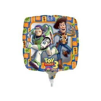 Palloncino Mylar Mini Shape Toy Story 3 - 22 cm.