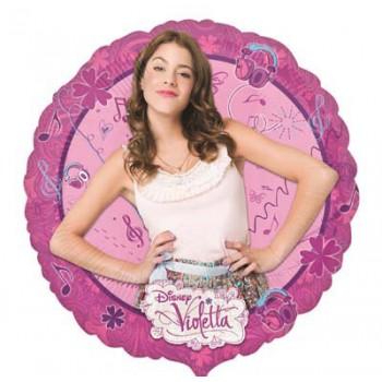 Palloncino Mylar Mini Shape Violetta - 22 cm.