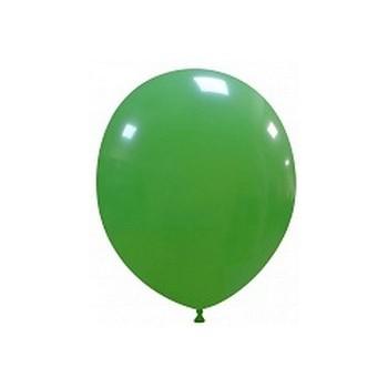 Palloncino in Lattice Rotondo 12,5 cm. Verde Scuro