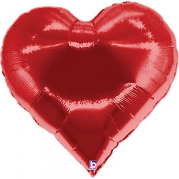 Palloncino Mylar Super Shape 76 cm. Casino Heart