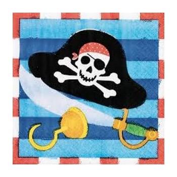 Pirati - Tovagliolo 25x25 cm. - 16 pz.