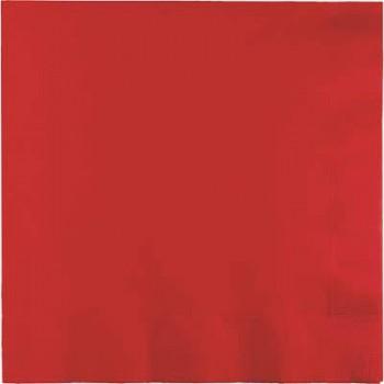 Rosso - Tovagliolo 2 veli 33x33 cm. - 20 Pz.