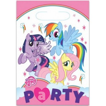 Sacchetti per Caramelle Little Pony - 8 pz.