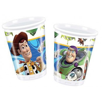 Toy Story 3 - Bicchiere Plastica 200 ml. - 10 pz.