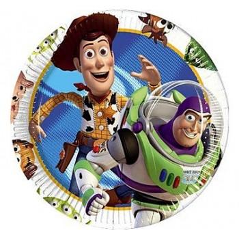 Toy Story 3 - Piatto Carta 20 cm. - 10 pz.