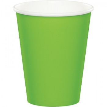 Verde Lime - Bicchiere Carta 266 ml. - 8 pz.