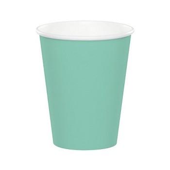 Verde Menta - Bicchiere Carta 266 ml. - 8 pz.