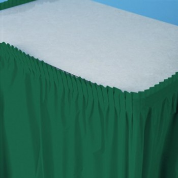 Verde Smeraldo - Gonna Plastica 74 x 420 cm.