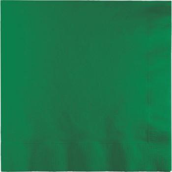 Verde Smeraldo - Tovagliolo 2 veli 33x33 cm. - 20 Pz.
